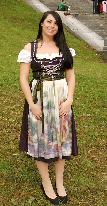 5143f6563b8 I chose a deep purple dirndl with green accents