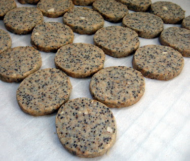 almond poppyseed cookies