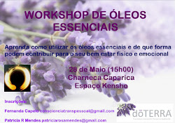 Workshop Óleos Essenciais