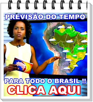 PREVISÃO DO TEMPO.