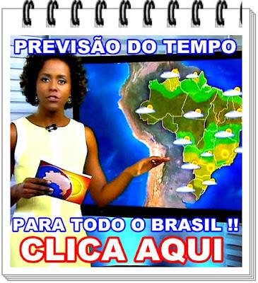 PREVISÃO DO TEMPO.