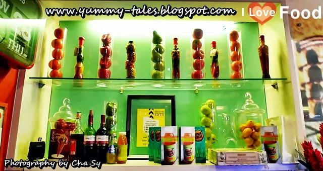 Focacia Restaurant wall decor