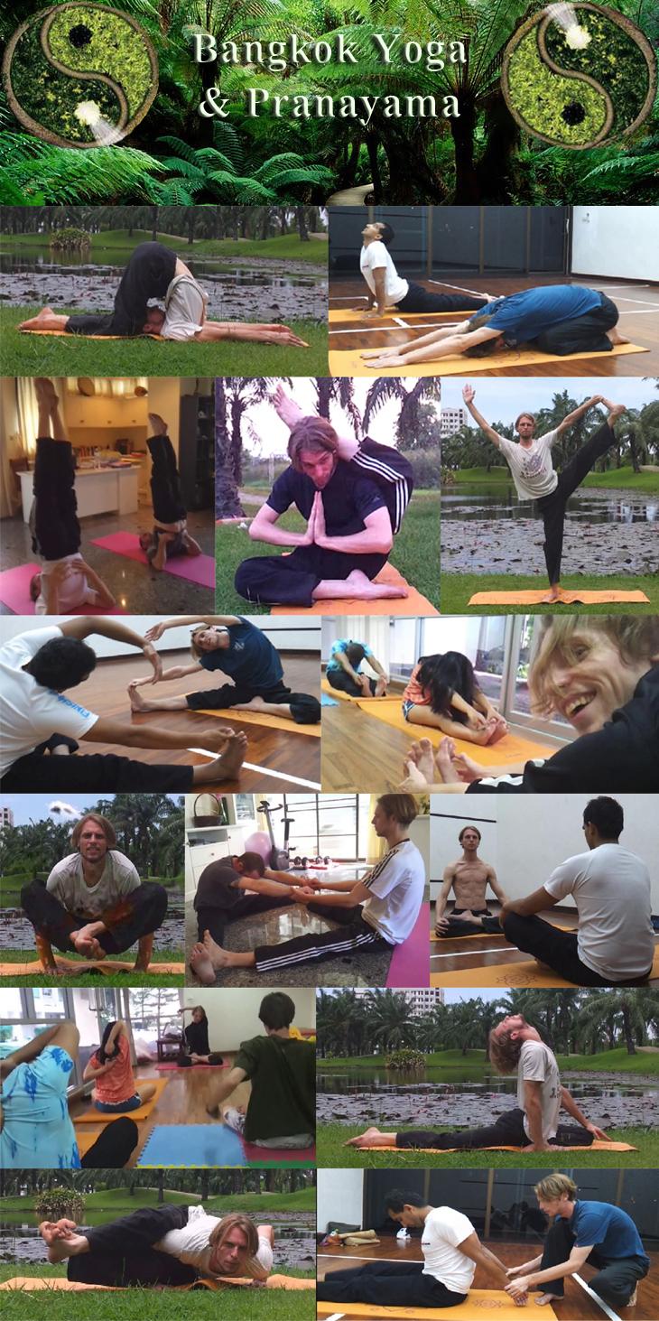 Yoga and Meditation BangkokYogaCollage