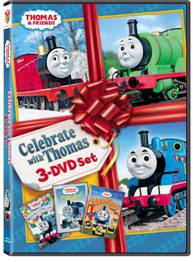 Celebrate with Thomas and Friends 3-DVD Set