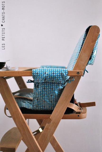 housse pour chaise haute. Black Bedroom Furniture Sets. Home Design Ideas