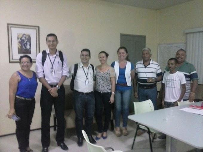 Prefeita Luíza Rocha se reúne com diretores da Cemar