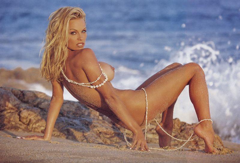 Anderson topless beach pamela