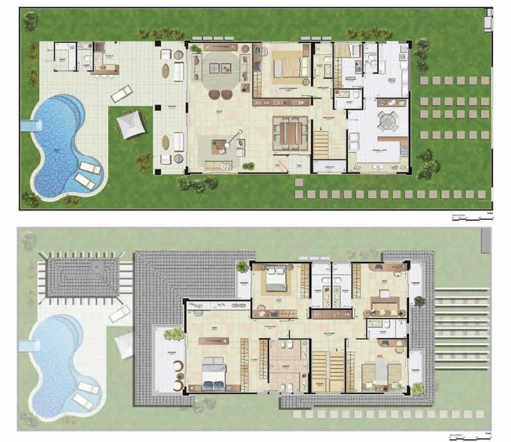 8 Resedential House Plans From 200 400 Meter Square Area