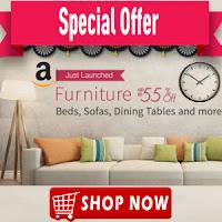 Amazon : Buy Furnitures upto 75% off & 10% Off : Buytoearn