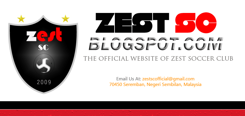The Official Website of Zest Soccer Club | Zestsc.blogspot.com