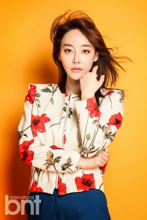 Kim Hye Eun - bnt International May 2014
