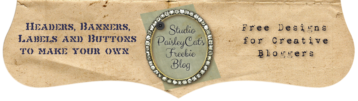 Studio PaisleyCat's Freebie Blog