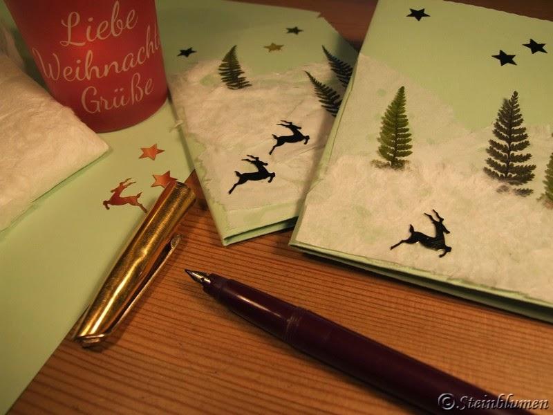Weihnachtspost basteln