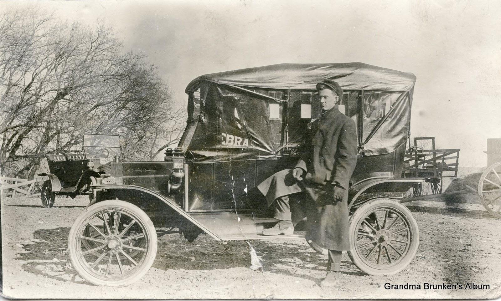 Frank Weber With Car
