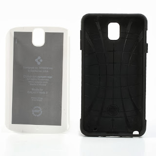 Slim Armor Case for Samsung Galaxy Note 3 N9000 N9002 N9005 - White