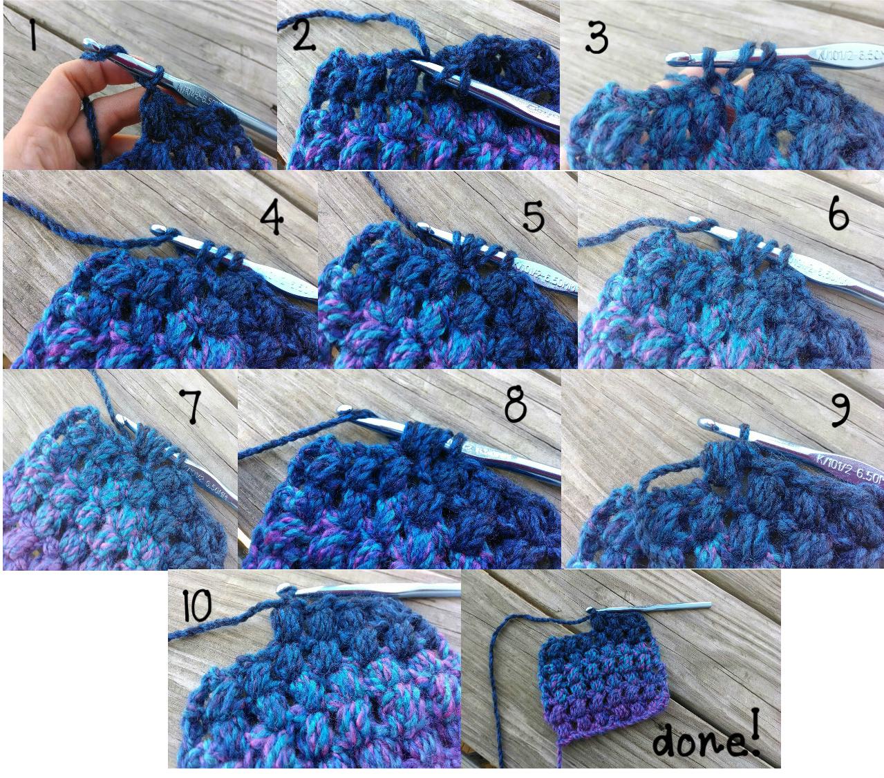 Free Crochet Patterneedy Puff Stitch Scarf!