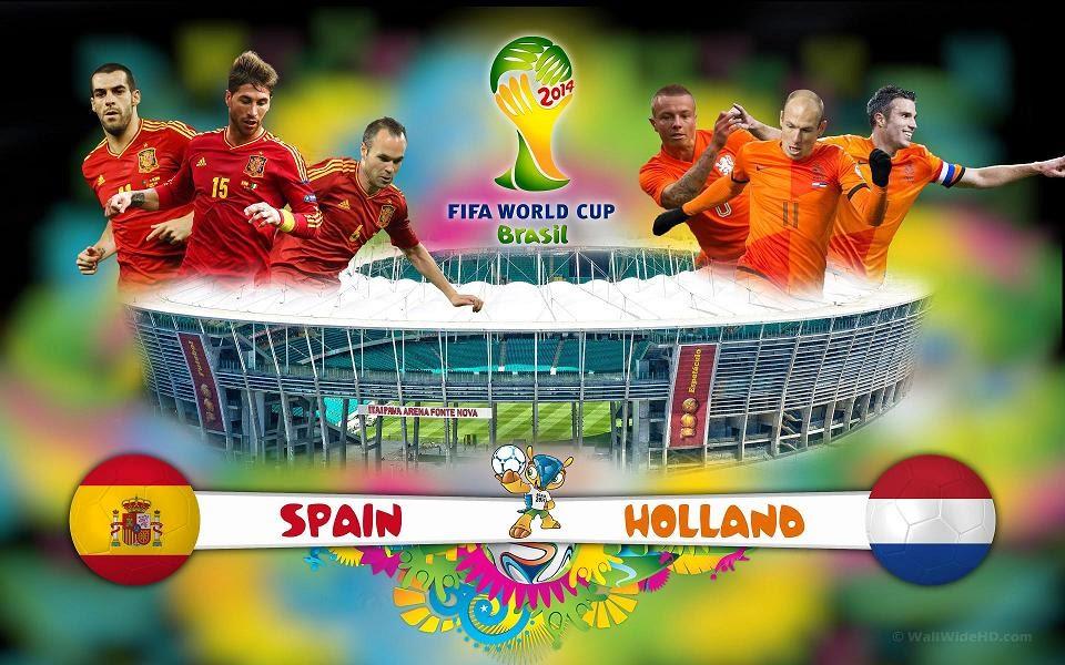 InfoMixta - PARTIDO - FUTBOL - ESPAÑA VS HOLANDA, BRASIL 2014 - ONLINE