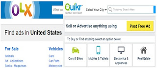 How does OLX or Quikr make money