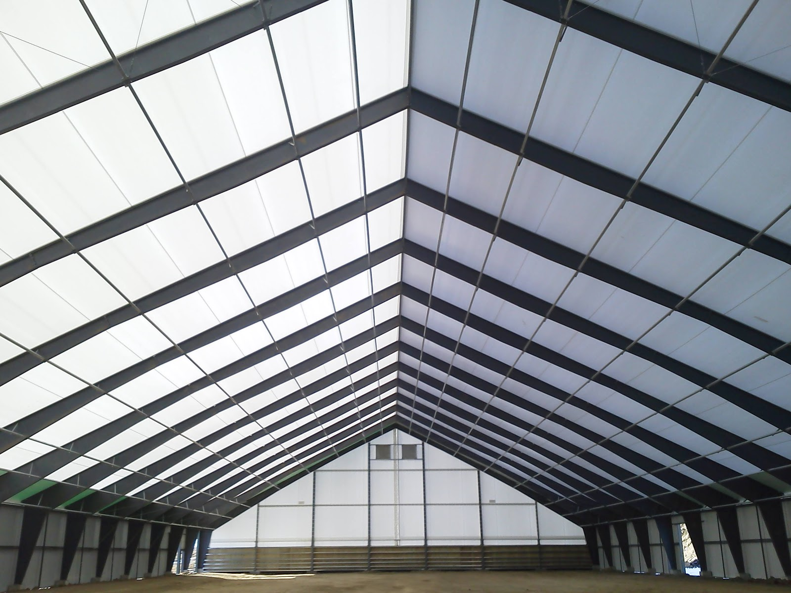 Tension Fabric Structures : Tension fabric buildings legacy offers