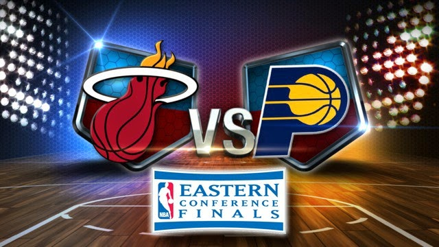 Miami Heat vs Indiana Pacers NBA Eastern Conference Finals - Game Time Preview and Highlights