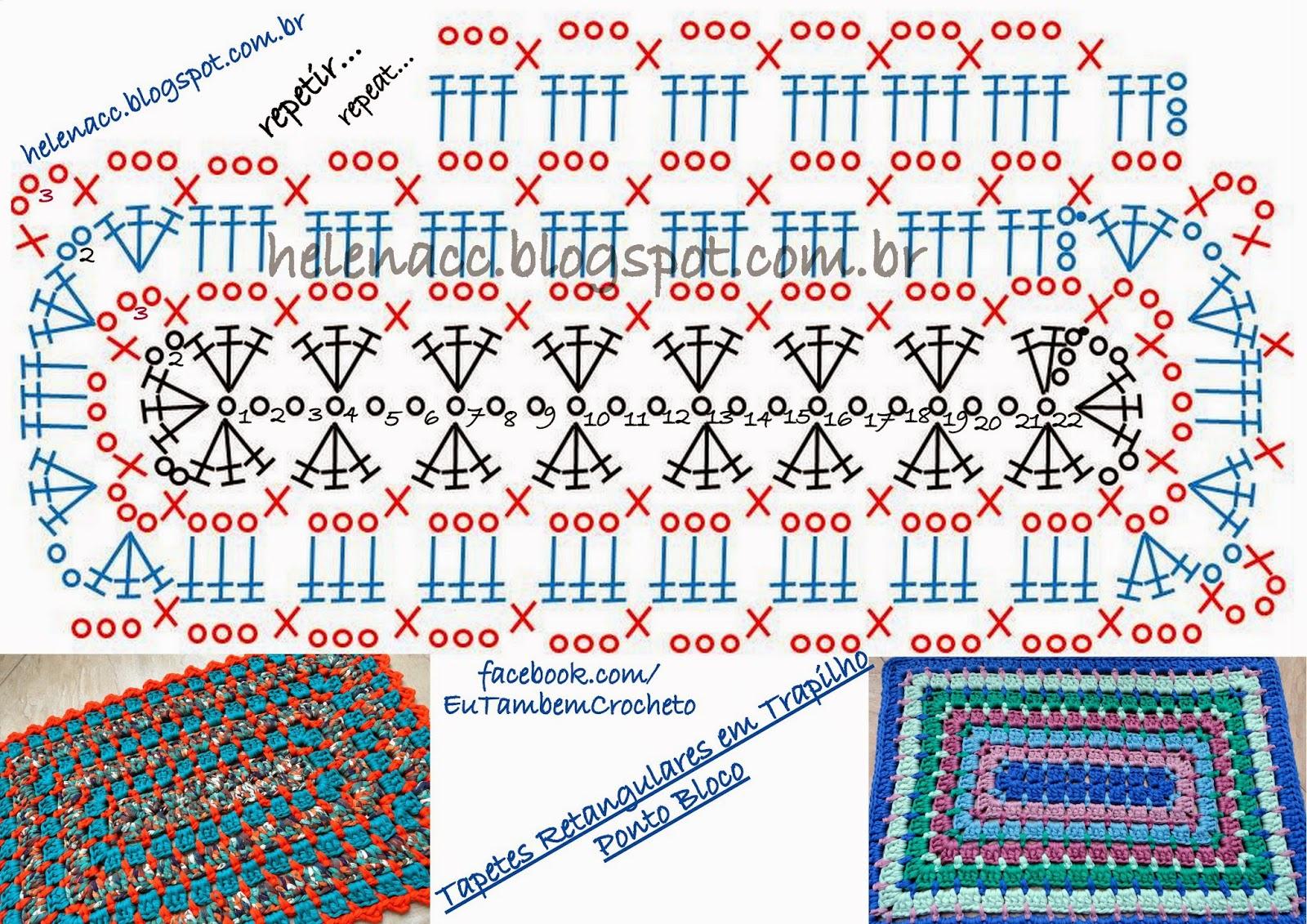 Баварское вязание рядами