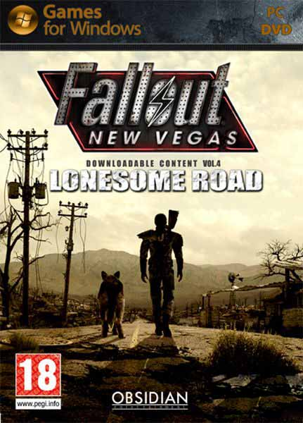 Fallout New Vegas Lonesome Road скачать