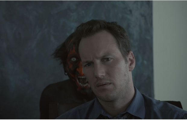 creepy face from insidious. Why was the black/red faced