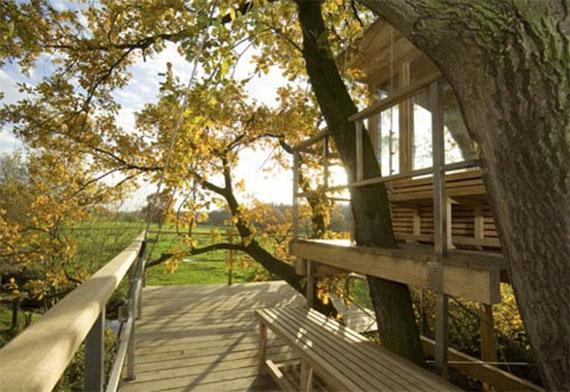 Casa sull 39 albero come realizzarne una davvero eco chic - Costruire una casa sull albero ...