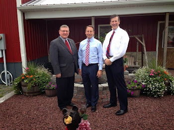 Rob Astorino at Otter Creek Winery With Assembly Candidates