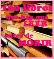 Reto 100 libros que hay que leer antes de morir