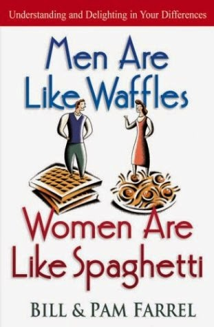 Men are like waffles (boxes), women are like spaghetti (wires)………