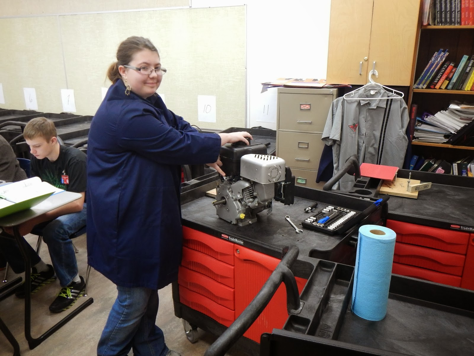 Savanna School Superstars Mr Orrs Small Engine Repair Class