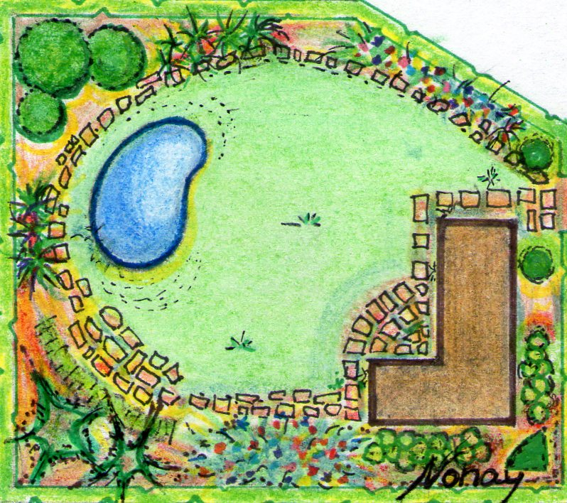 Jardineria eladio nonay proyectar jardines jardiner a for Planos de jardines