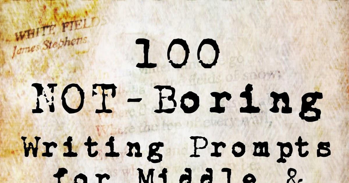 How to write a boring essay