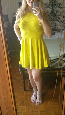 new look yellow dress sandals summer 2013