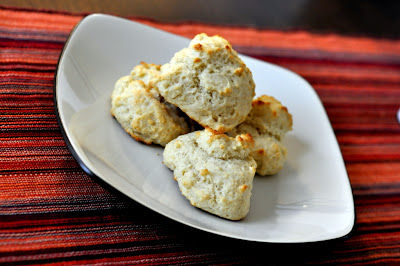 Simple Basil Olive Oil Drop Biscuits - Photo by Taste As You Go