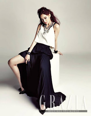 Jooyeon After School - Grazia Magazine July Issue 2013
