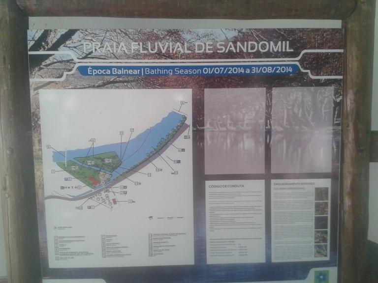 Praia Fluvial de Sandomil