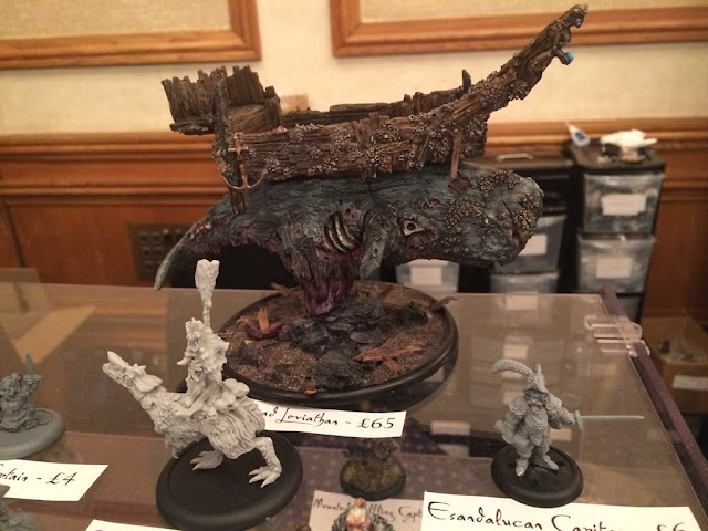 Zombie Leviathan from Warplogue Miniatures at the UK Games Expo