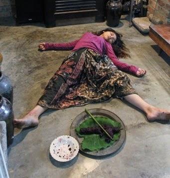 7 Gambar Kisah Nasi Tangas K angkang yang meloya dan menjijikkan