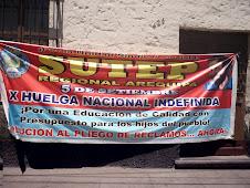 X HUELGA NACIONAL INDEFINIDA DEL SUTEP