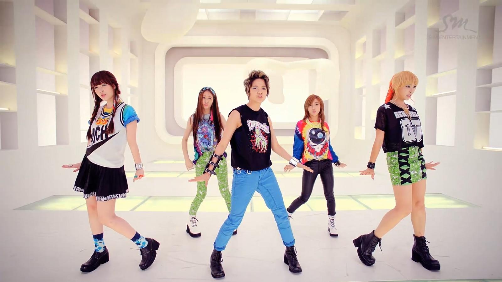 F Electric Shock : K pop ♪♫ mv f electric shock