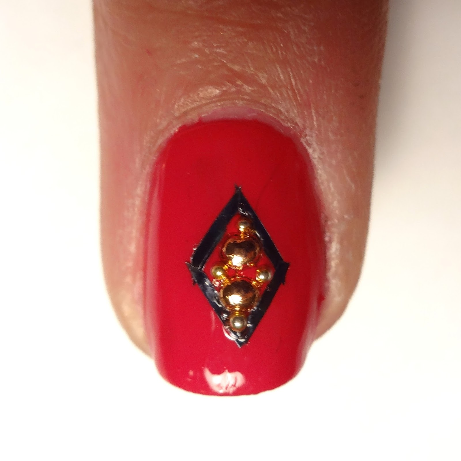 Lacquered lawyer nail art blog fire engine fab middle nail art prinsesfo Gallery