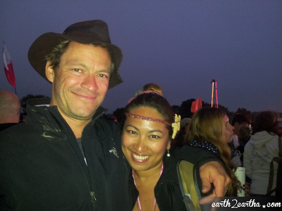 Dominic West Glastonbury 2013