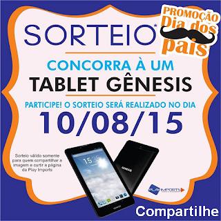 Participe do Sorteio de um Tablet Gênesis