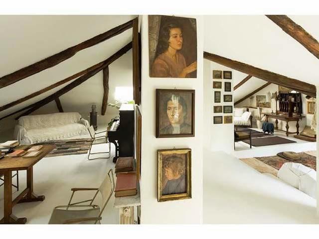 Interiors case una mansarda sotto i tetti di torino cool chic