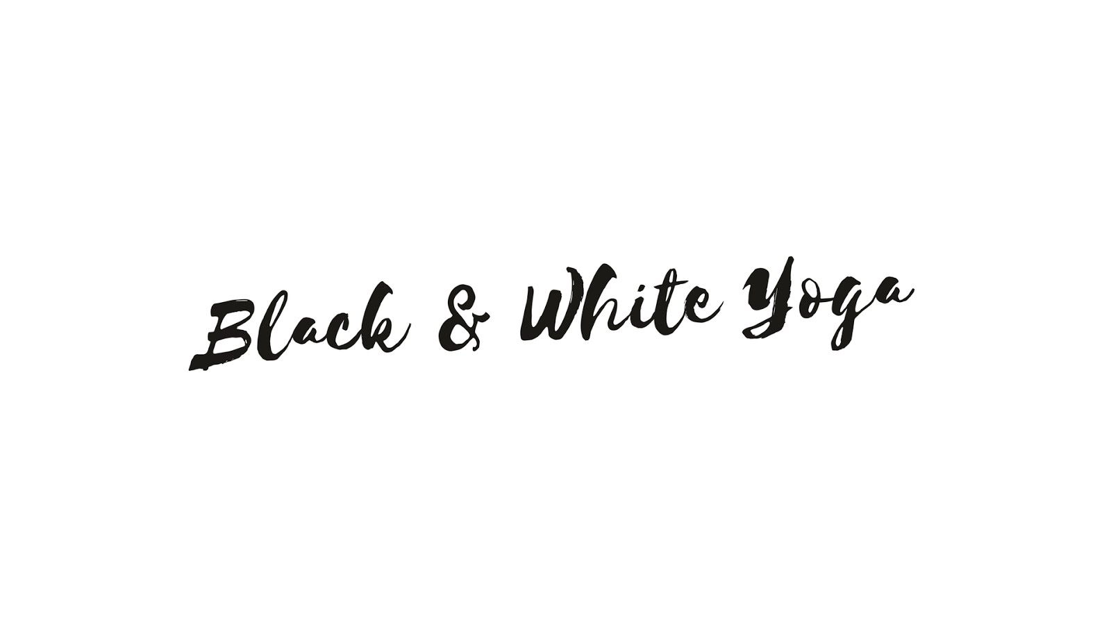 Black&WhiteYoga