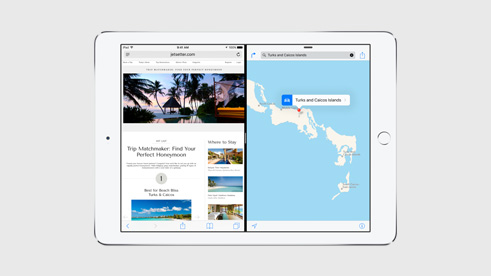 Apple iOS 9 Split View