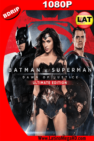 Batman v. Superman: El origen de la justicia (Ultimate Edition) (2016) Latino HD BDRIP 1080P ()