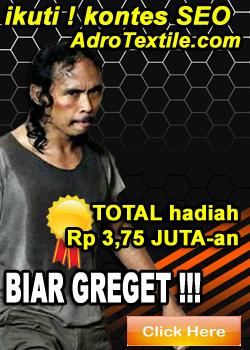 ADRO TEXTILE Konveksi Murah Indonesia - Tlp 081362666444